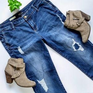 Kut Distressed Adele Slouchy Boyfriend Jeans 12